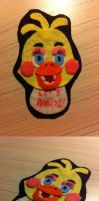 Five Nights at Freddy's 2 ..Toy Chica.. Plush by NiAnU