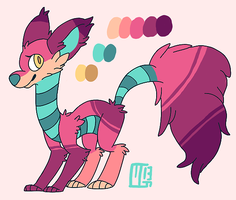 Rosie Ref Sheet by Kaweki