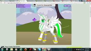 WilfreDS's pony design by WILFRE-IS-AWESOME