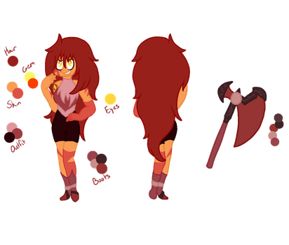 .:Gacha:. Jasper by Anklesupport