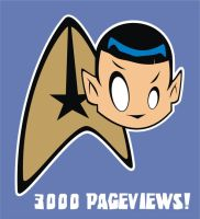 3000 Pageviews by HeadsUpStudios