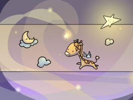 The Flying Giraffee by joulee
