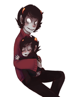 Kankri and lil Karkat request. by RetroTrickster