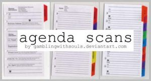 Agenda Scans by gamblingwithsouls