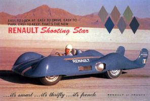 Renault Shooting Star fake ad by Bispro