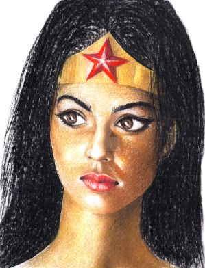 Wonder Woman by subhankar-biswas