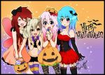 Happy Halloween!!!! by Usagi-Chii