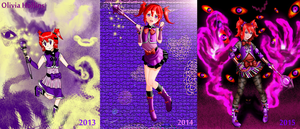 Olivia Hollins Evolution by Gearshead145778