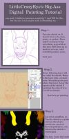 Digital Painting Tutorial by LittleCrazyEyes