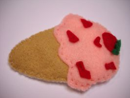 IceCream Patches -Strawberry by FioreCiliegia