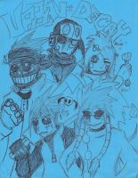 Urban Decay Roster by Screwless-Skeleton
