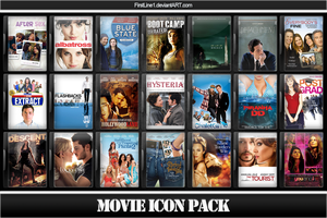 Movie Icon Pack 56 by FirstLine1