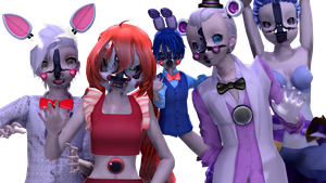 MMDxFNAF:SL :: Welcome To The Sister Location by Cylops2000