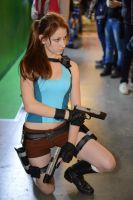 IgroMir 2013 Lara Croft cosplay by LiSaCroft