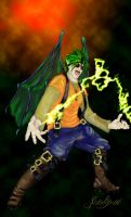 Gregor Male Lightening Fairy by sparkyrat