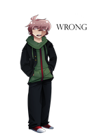 naegi lays down the facts by cherrystar318