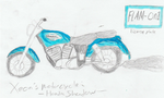 Xeon's Motorcycle by Mighty-C-amurai