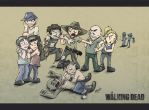 Walking Dead Group Tensions by GakiRules