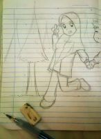 Lovely Winter (sketch) by alfi-ramadhani