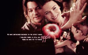 Apple . Richard and Kahlan by Kiska-eyes