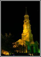 St. Philip's at Night by Geayzus