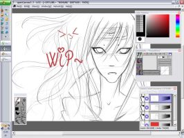 WIP - Itachi ::Event File:: by SaikeUchiha