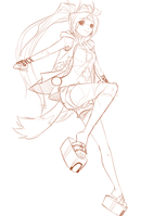 Commission: Eri WIP by lires