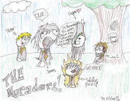 The Muraders by Krizteeanity