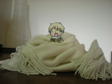 There's a Russian in my Scarf by gamakichisora