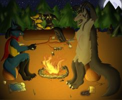 Around The Campfire by Sirfy