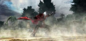 Devil May Cry 4. Dante in the Forest by StMalKavian