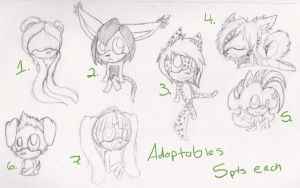 Adoptables :OPEN: points by Jalhan