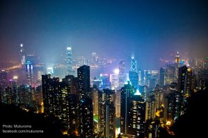 The Peak Hong Kong by mukuroma