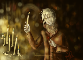 candles light by AurionPride