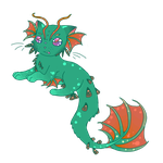 cat fish adoptable CLOSED by iceiline