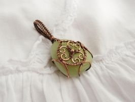 Femail amulet by UrsulaJewelry