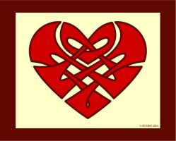 Celtic Knotwork Heart by bigblued
