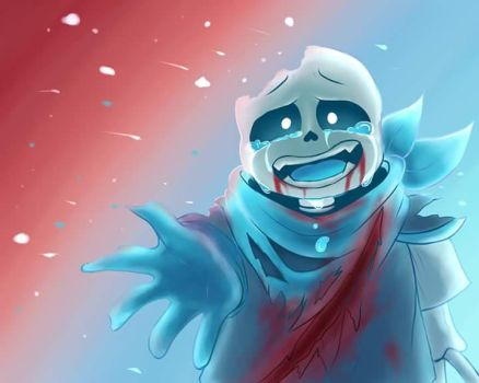 [Underswap] Sans - ''I Believe in you!!!'' by Neko-Priestess327