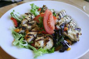 Grilled Chicken Salad by belladreamer