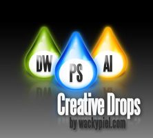 Creative Drops by wackypixel