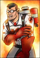 TF2 - Wounded Medic by RatchetMario