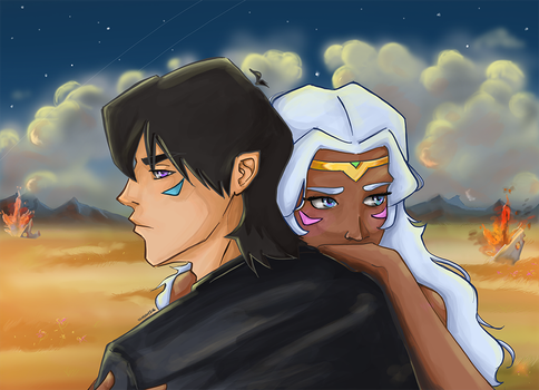 Voltron - My Blood, My Family by Neptune47
