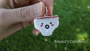 Kawaii Underwear Charm by BeppasCreations