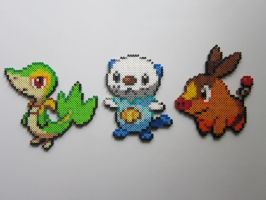 Pokemon Starters No.5 by 8-BitBeadsStudio