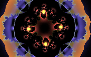rounding with mandelbrot plate by Andrea1981G