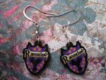 Ravenclaw Earrings by AriesNamarie