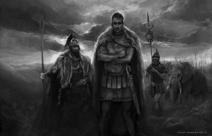 Hannibal Barca Reaches Italy by FilipeHattori
