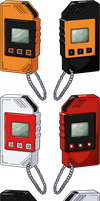 Digimon Next Digivice - Digimon Twin HD + Lines by NelaNequin