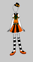 Adoptables - Halloween Outfit by GoldenChase