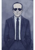 Daily Sketches Agent Coulson by fedde